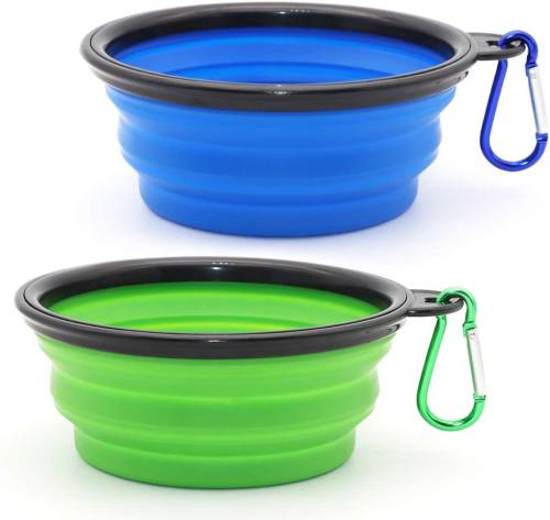 SLSON Collapsible Dog Water Bowl