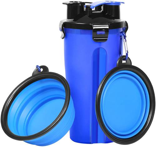 UPSKY Dog Water Bottle with Collapsible Dog Bowls